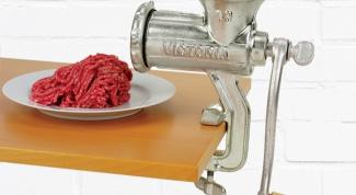 Как сделать мясорубку