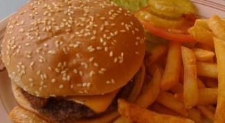 Как готовить чизбургер