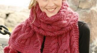 Как обвязать шарф красиво
