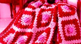 Как связать одеяло крючком