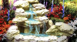 Как сделать макет фонтана