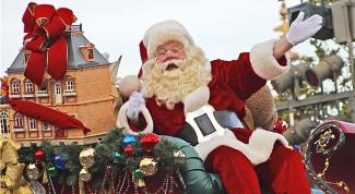Как нарисовать Санта Клауса