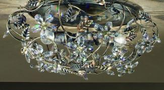 Как установить потолочные светильники