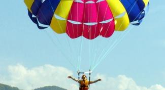 Как сшить парашют