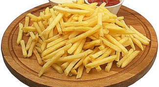 How to fry French fries