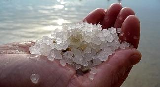 Как разводить морскую соль