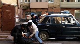 Как задерживать преступника