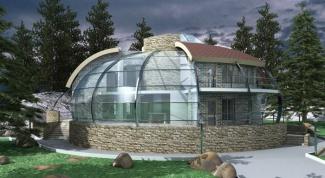 Как построить круглый дом