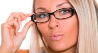Как привыкнуть к очкам