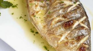 Как приготовить рыбу гриль
