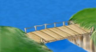 Как нарисовать мост