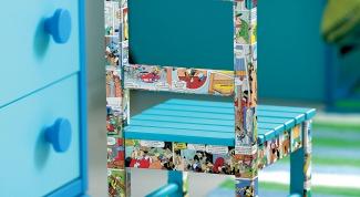 Как собрать детский стульчик