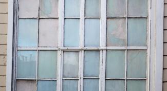 Как снять краску с окна