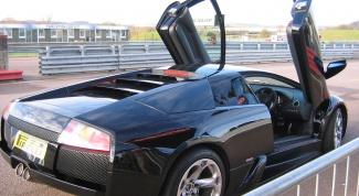 Как сделать двери, как у Lamborghini