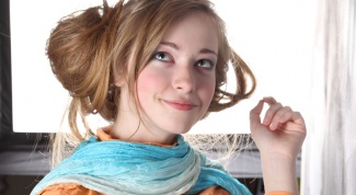 Как носить шарф и платок