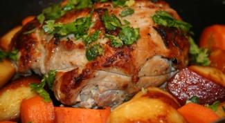 Как приготовить запеченное мясо
