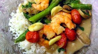 Как приготовить китайский рис