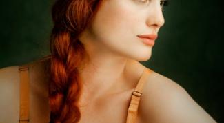 Как перекрасить волосы в рыжий цвет