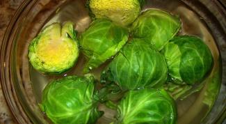 Как варить брюссельскую капусту