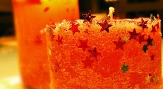 Как сделать резные свечи