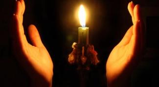 Как сделать церковную свечу