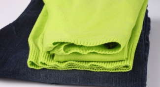 How to remove the gloss from clothing