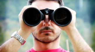 How to set binoculars