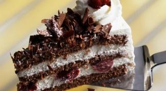 Как приготовить Шварцвальдский вишневый торт