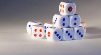 Как сделать игральный кубик
