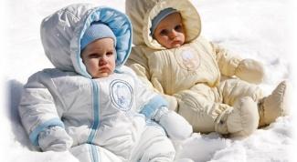 Как одеть малыша зимой