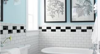 Как положить плитку на пол в туалете