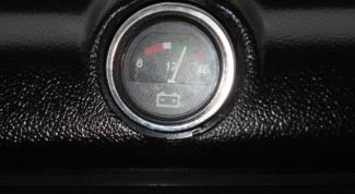 Как подключить вольтметр в ВАЗ