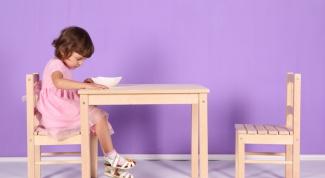 Как выбрать стул для ребенка
