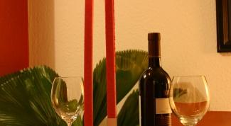 Как оформить романтический ужин