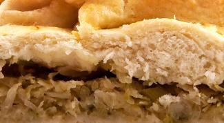 Как приготовить начинку для пирога из капусты
