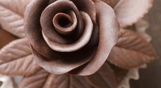 Как украсить шоколадный торт