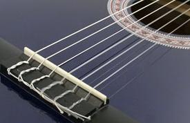 Как вставить струну в гитару