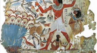 Как нарисовать египтянина