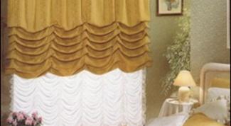 Как сшить шторы маркиза
