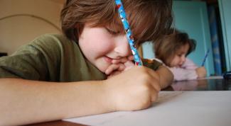 Как научить ребенка быстро писать
