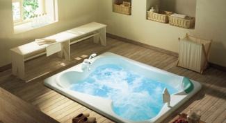Как заложить ванну