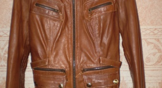 Как почистить коричневую куртку