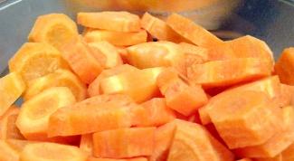 Как резать морковь