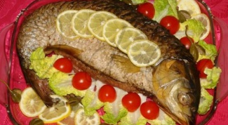 How to cook stuffed carp