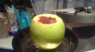 Как курить кальян через яблоко