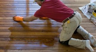 Как отремонтировать деревянный пол