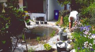 Как выкопать озеро