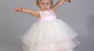 Как сшить бальное платье для девочки
