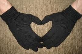 Как связать мужские перчатки