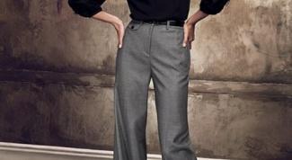 Как уменьшить брюки